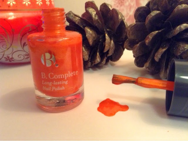 Superdrug B.Complete Long-Lasting Nail Polish in 'Sunrise'