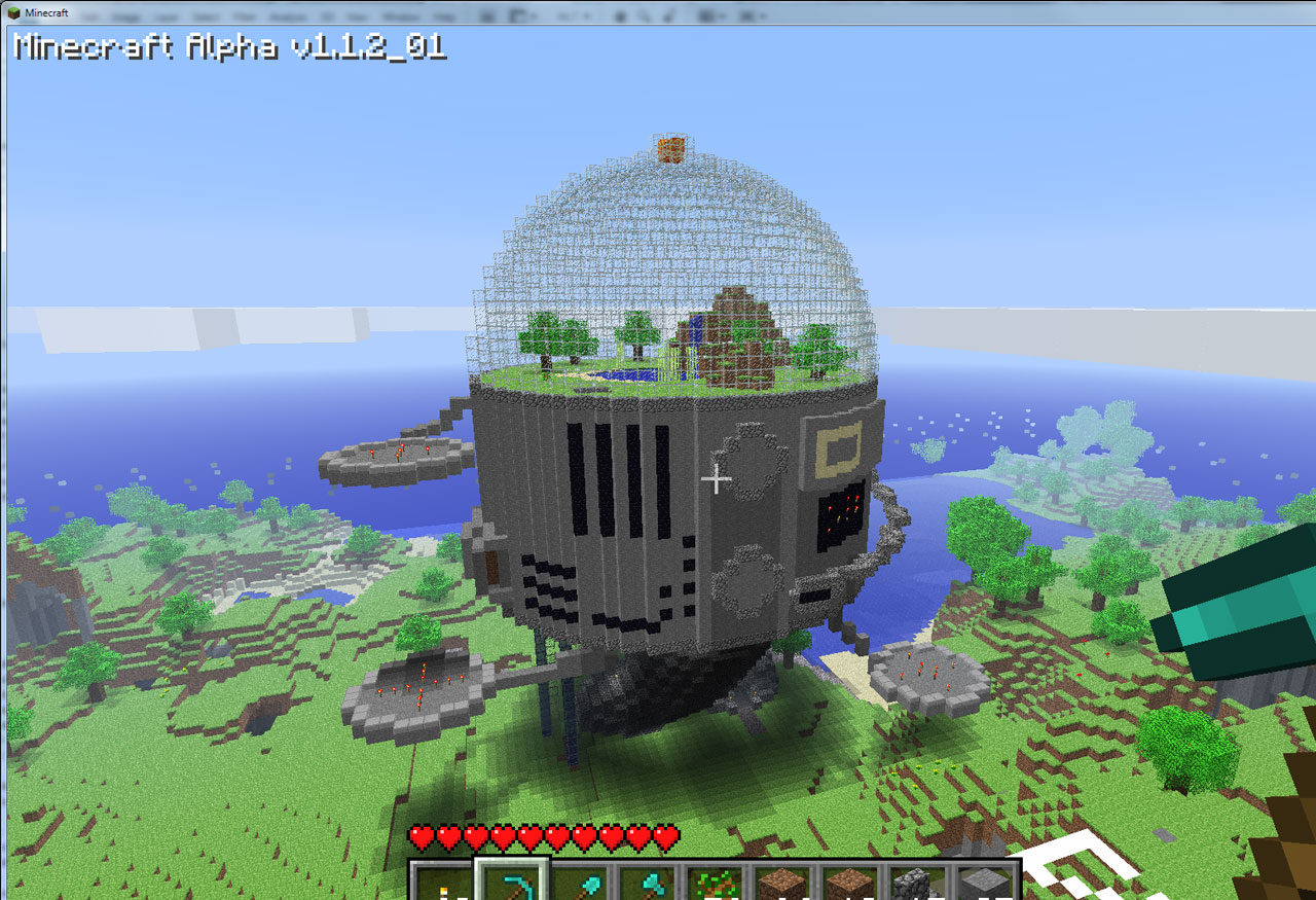 Minecraft Creations October 17th 2010 Added By Umlux