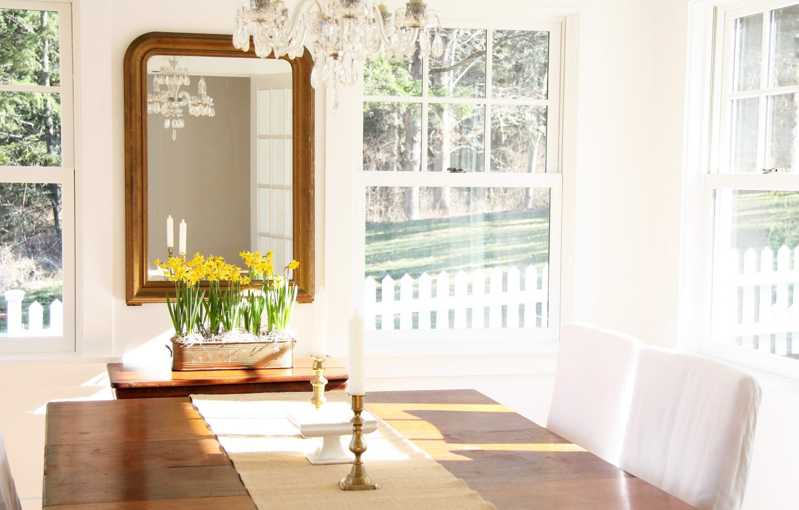 In the fields dining with daffodils for Dining room or there is nothing actress