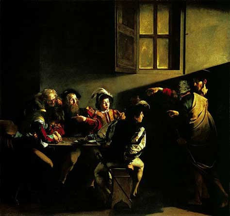 La vocación de San Mateo o el arte de lo religioso