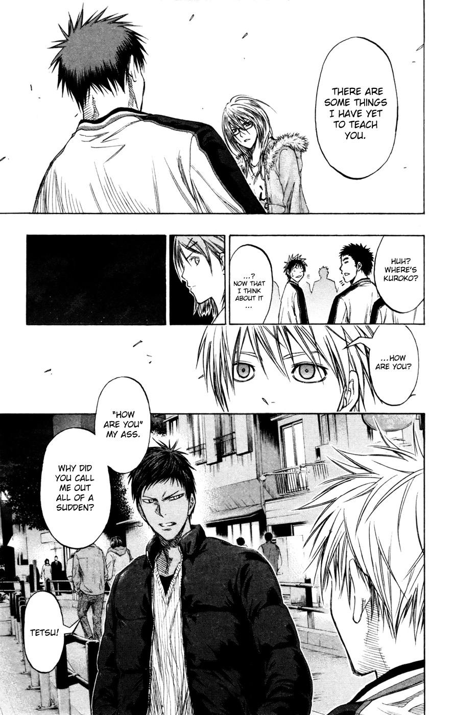 Kuroko no Basket Manga Chapter 141 - Image 19