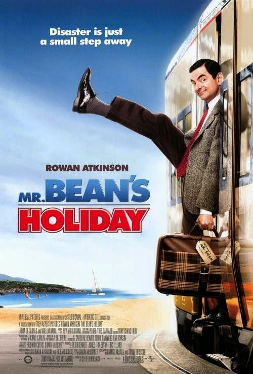 Poster Of Mr. Bean's Holiday (2007) Full Movie Hindi Dubbed Free Download Watch Online At Alldownloads4u.Com