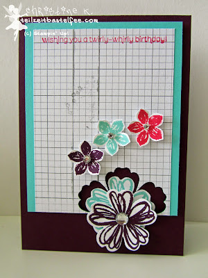 stampin up, inkspire_me #156, flower shop, petite petals, wishes your way, birthday, geburtstag, incolors, mondschein, moonlight
