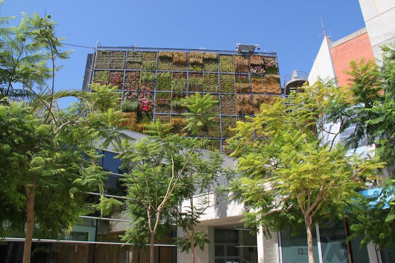 Jardín vertical San Vicente