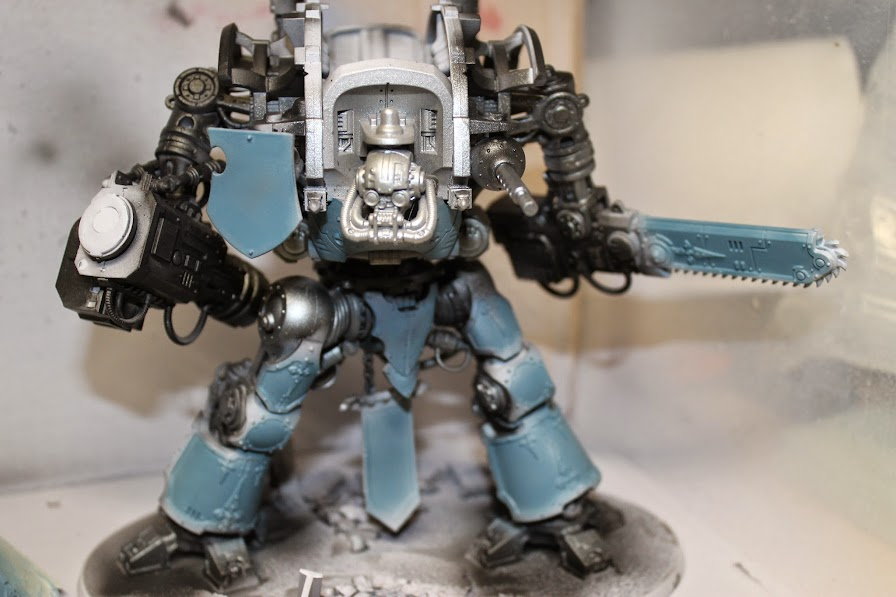 Imperial Knight with blue coat