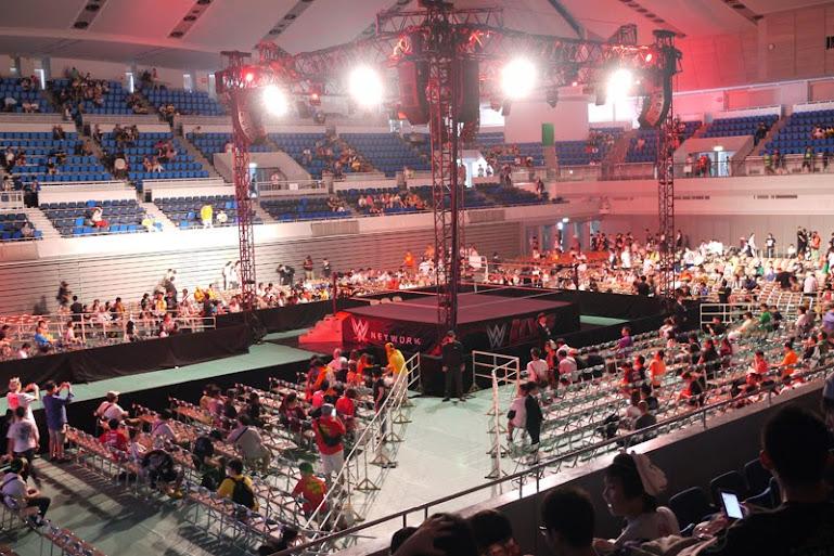 WWE Live2014大阪公演にいってきたよ!