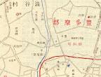明治44年實地踏測東京市街全圖の笑花園