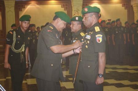 serah terima jabatan dilingkup TNI AD