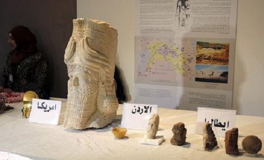 Iraq: Iraq celebrates return of antiquities
