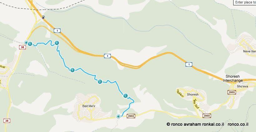מסלול הטיול בדרך בורמה