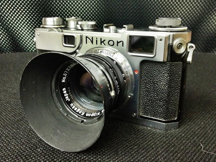Nikon s2入手首試新版nikon sc 50mm f1.4