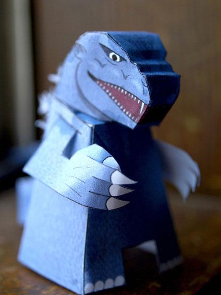 Kaiju Paper Toy Godzilla