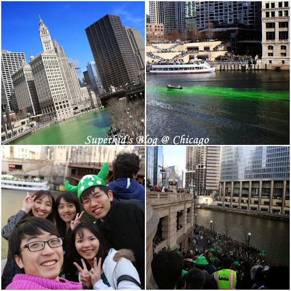 St Patrick's Day,我們在芝加哥!