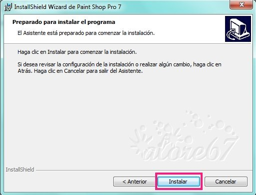 6-Descargar e Instalar Paint Shop Pro 7.04