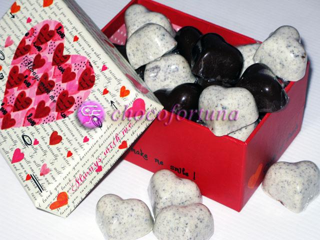 Cokelat coklat Praline Love valentine hati Spot
