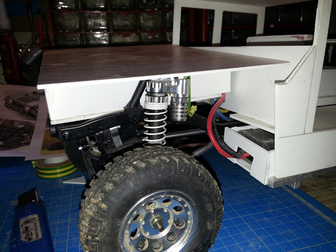 AXIAL SCX10 Hummer H1 Full styrene devient Full Zinc %255BUNSET%255D