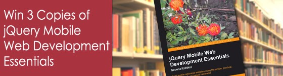 Win 3 Copies of jQuery Mobile Web Development Essentials
