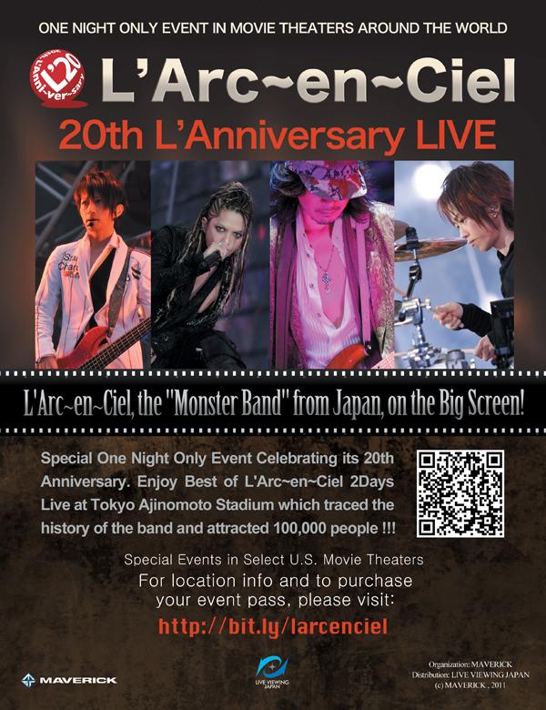 """L'Arc-en-Ciel """"20th L'Anniversary LIVE"""""""