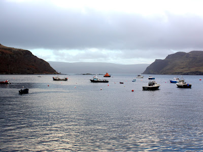 Portree harbor on the Isle of Skye