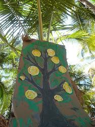 детский сад под пальмами Гоа Арамболь