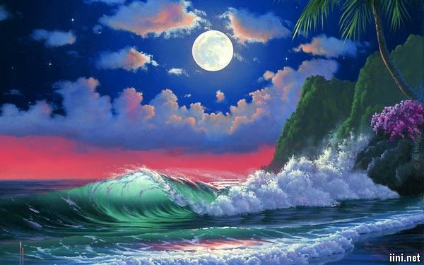 ảnh nghệ thuật về trăng