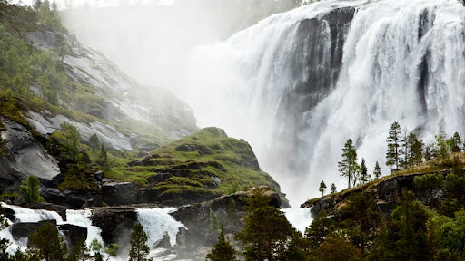 A Waterfall Near a Small Sami Fishing Village in Norway.jpg
