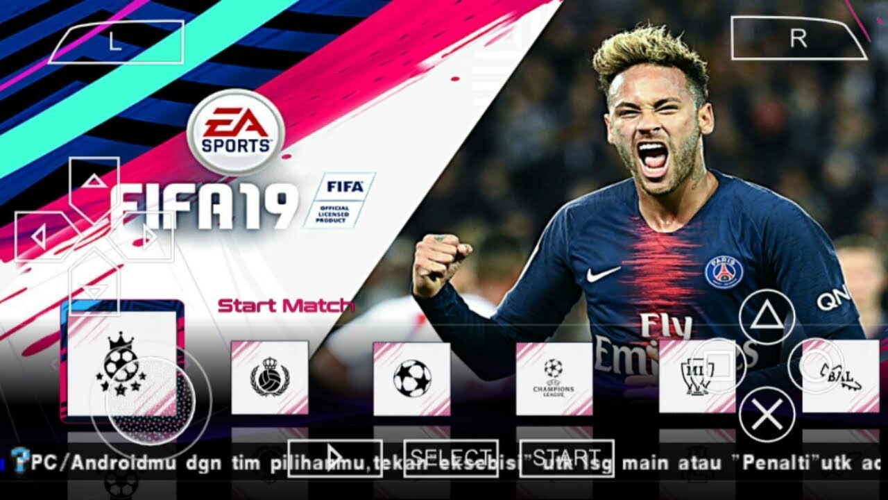 FIFA 19 PPSSPP