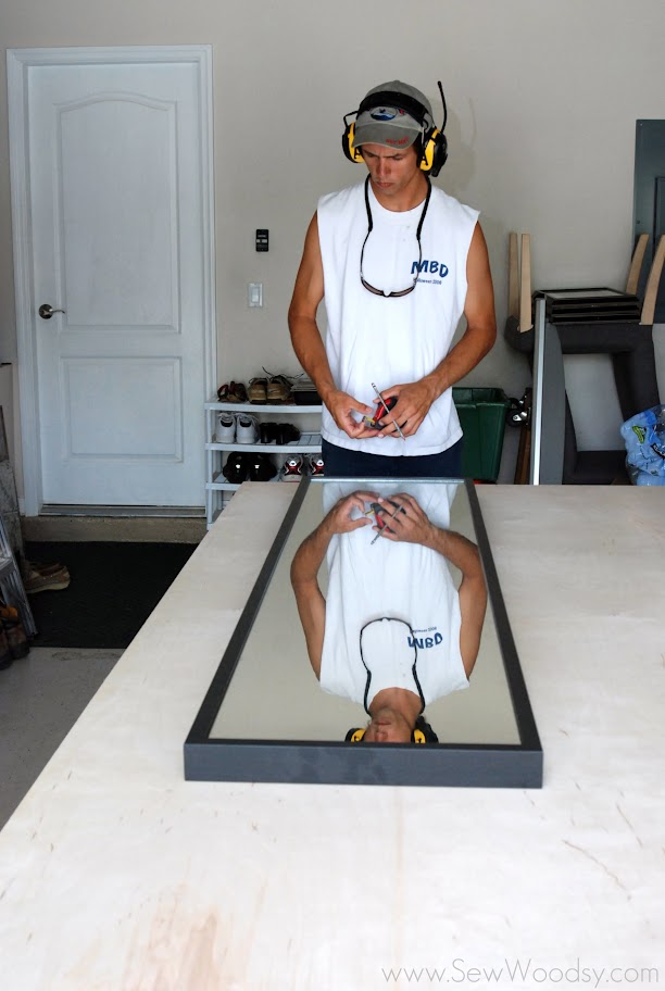 PureBond Plywood & Ikea Stave mirror