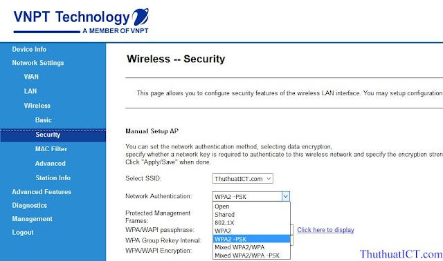 [Quản trị mạng] Các tính năng Router Wi-Fi (GW040 của VNPT) có thể bạn chưa biết? Ma%2Bhoa