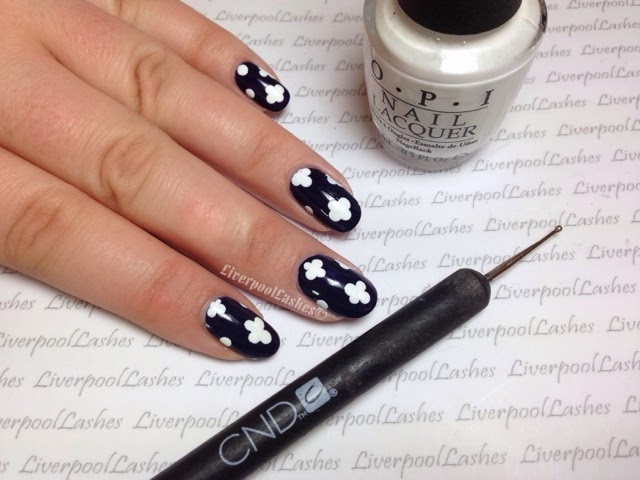 liverpoollashes liverpool lashes nail art tutorial quatrefoil pro beauty blogger scouser