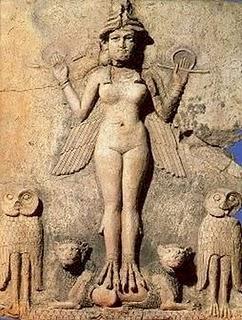 Sumarian Goddess Inanna Image