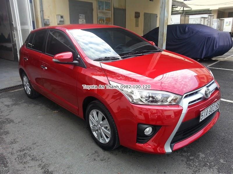 Khuyến Mãi Giá Bán Xe Ôtô Toyota Yaris 2015 Mới 5