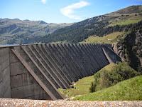 Contreforts du barrage