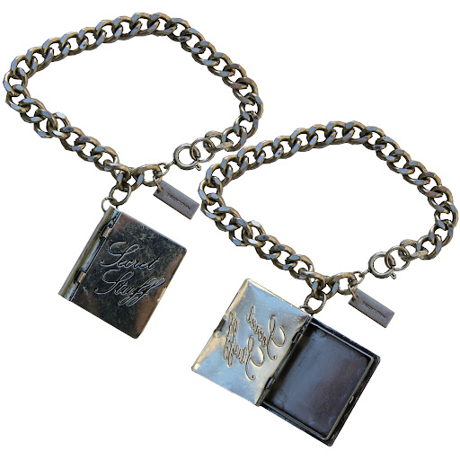 Marc by Marc Jacobs Secret Stuff Locket Bracelet Antique Silver