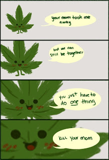 killer weed comic