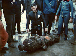 13 April 1968 - Recovery of the Cannon found at Apollo Bay Victoria - Jeff Anderson
