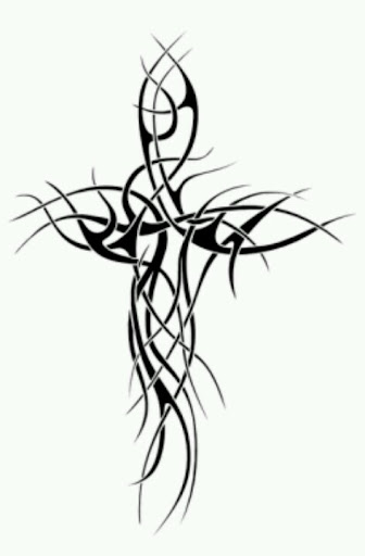 tribal cross tattoo designs
