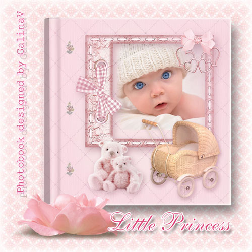 Photobook for Baby Girl - Little Princess
