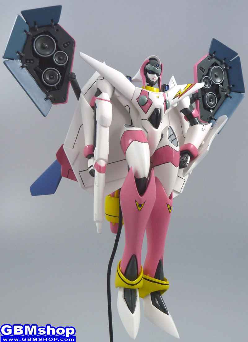 Macross 7 VF-11MAXL Thunderbolt Custom with Sound Booster Mylene Valkyrie