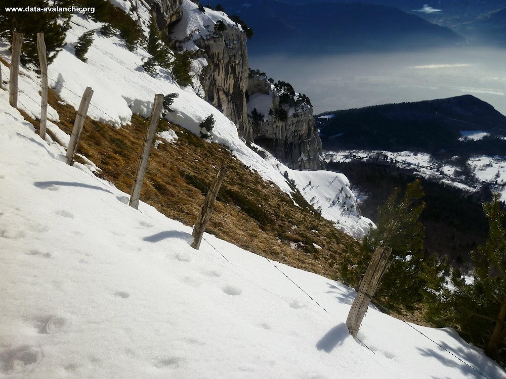 Avalanche Chartreuse, secteur Dôme de Bellefont, Cirque de l'Aup du Seuil ; Col de Marcieu - Photo 1
