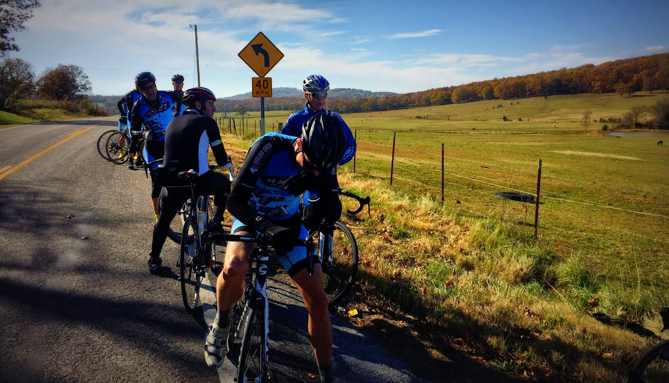The Saturday Ride 11/8 - Ozark Cycling Adventures, Cycling news and Routes in Northwest Arkansas NWA