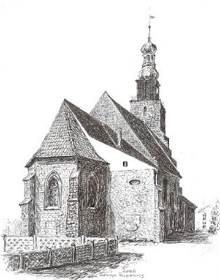 Prawosławny kościół Podwyższenia Krzyża Świętego w Rudnej