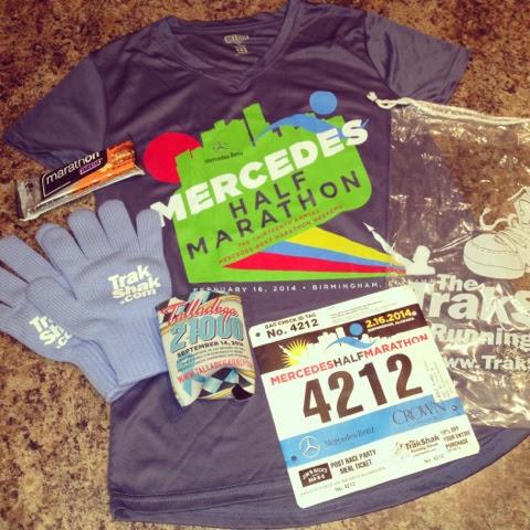 Bamagirlruns mercedes half marathon prepping for Mercedes benz half marathon