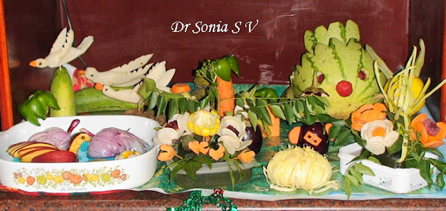 Cards crafts kids projects vegetable carving