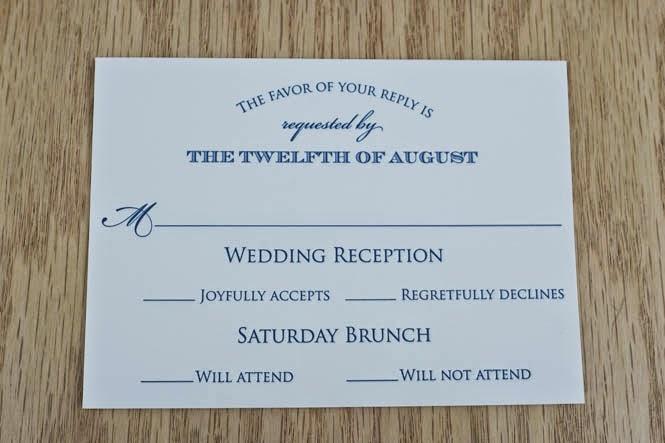 letterpress wedding invitations: nicole + paul