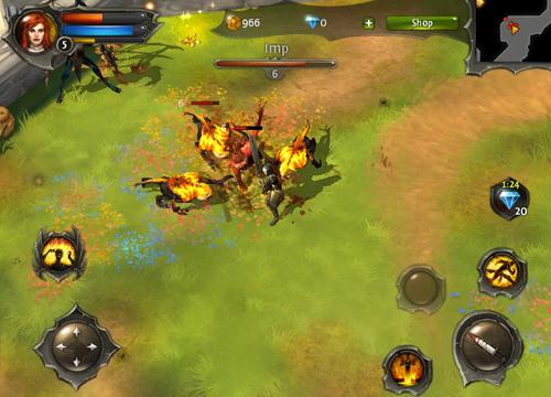 Đánh giá tổng quan game Dungeon Hunter 4 4