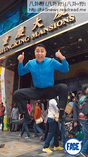 喬寶寶係尖沙咀重慶大廈地膽,任何人要 喺重慶入面拍 嘢或者要大量南亞裔臨時演員,喬寶寶都會幫手吹雞!