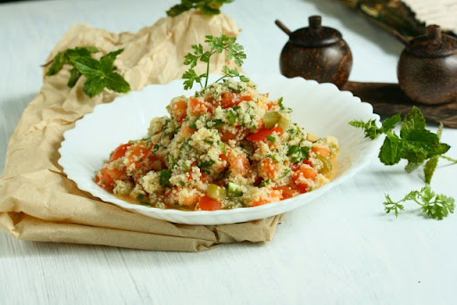 Herb couscous salad for Angie s african cuisine