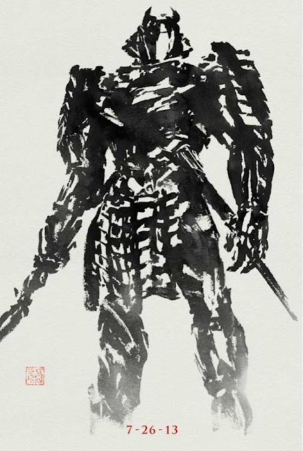 The Wolverine Silver Samurai Eastern Style Poster