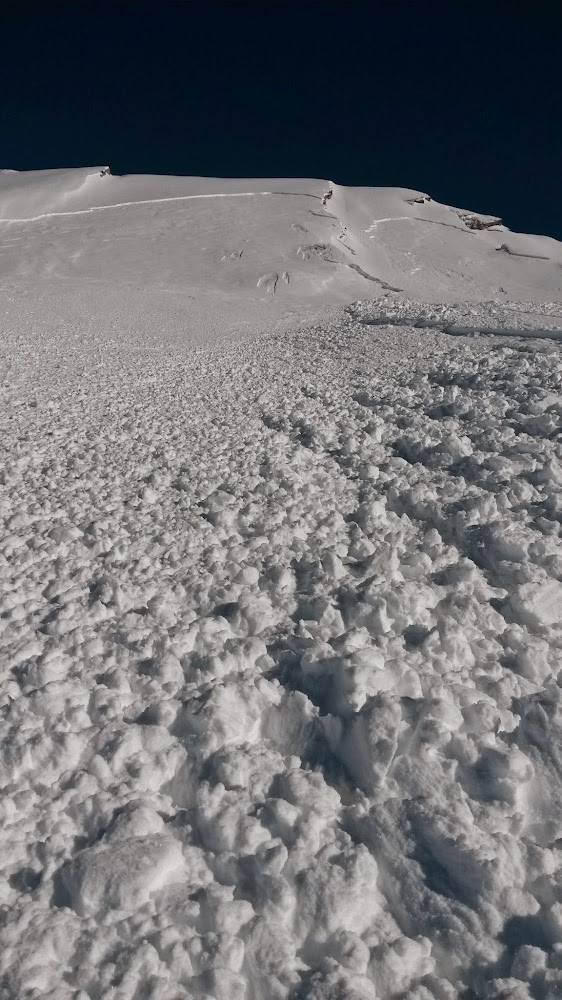 Avalanche Queyras, secteur Crête de la Taillante, Face Ouest - Photo 1